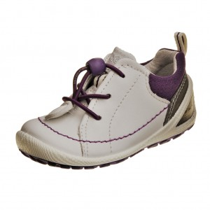 ECCO BIOM lite infants   /white/imperial purple