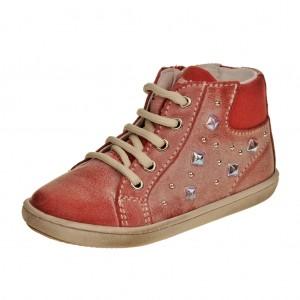 Dětská obuv PRIMIGI Dafny  /Rosso -  Celoroční
