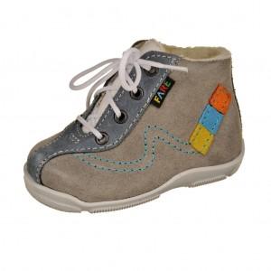Dětská obuv FARE 2124362 /šedomodré -  První krůčky