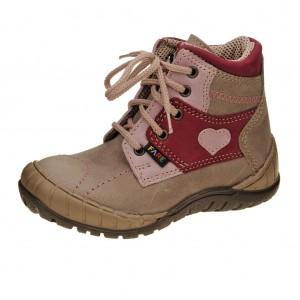 Dětská obuv FARE 822151 /hnědá/vínová -  Celoroční