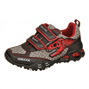 GEOX J Eclipse B  /black/red