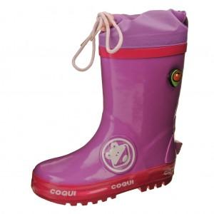 Dětská obuv Gumovky Coqui  /lila - Gumovky