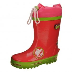 Dětská obuv Gumovky Coqui  /fuchsia - Boty a dětská obuv