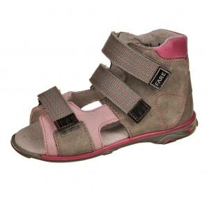 Dětská obuv Sandály FARE 760351  /šedé/růž. -