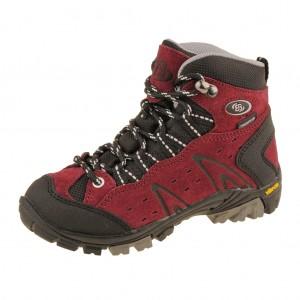Dětská obuv Brütting Mount Bona High   /bordeaux -  Do hor nebo nížin