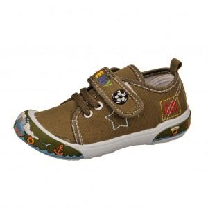 Dětská obuv Plátěnky PEDDY PS-601-28-31 /olivové -