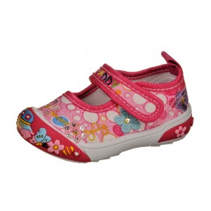 Dětská obuv Plátěnky PEDDY PS-601-25-13 /fuchsia -
