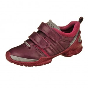 ECCO BIOM Train kids   /burgundy/fuchsia