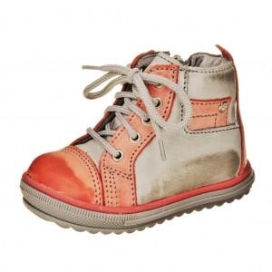 Dětská obuv Santé 730/301  /červené -  První krůčky