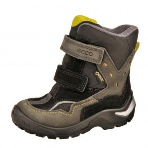 Dětská obuv ECCO Snowride   /dark shadow/black - Boty a dětská obuv