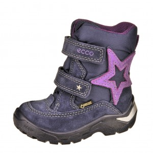 Dětská obuv ECCO Snowride   /midnight - Boty a dětská obuv