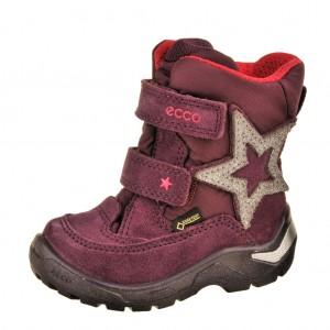 Dětská obuv ECCO Snowride   /burgundy - Boty a dětská obuv