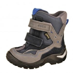 Dětská obuv ECCO Snowride   /titanium/marine -