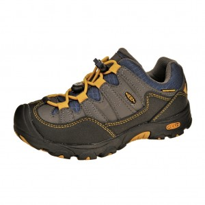 Dětská obuv KEEN Pagosa low  /magnet/yellow -  Do hor nebo nížin