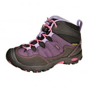 Dětská obuv KEEN Pagosa MID  /blackberry -  Do hor nebo nížin