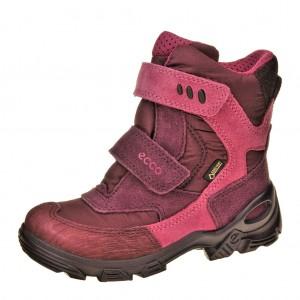 Dětská obuv ECCO Snowboarder     /burgundy - Boty a dětská obuv