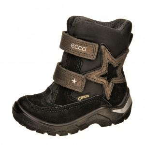 Dětská obuv ECCO Snowride   /black - Boty a dětská obuv
