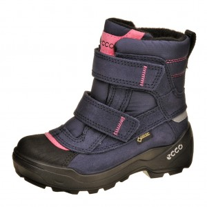 Dětská obuv ECCO Snow Rush   /midnight - Boty a dětská obuv