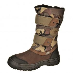 Dětská obuv LICO Malmoe V  /olive/braun -  Zimní