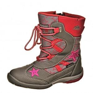 Dětská obuv LICO Lea   /grau/pink -  Zimní