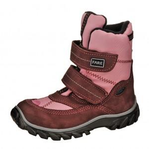 Dětská obuv FARE 848292 Polarisky  /růžové -