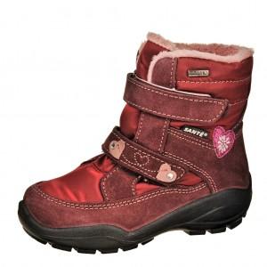 Dětská obuv Santé OR/30412  /cabernet -  Zimní