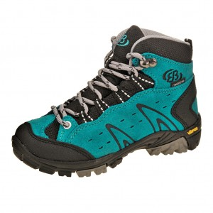 Dětská obuv Brütting Mount Bona High   /tuerkis -  Do hor nebo nížin