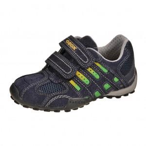 Dětská obuv GEOX  J Snake B   /navy/yellow -