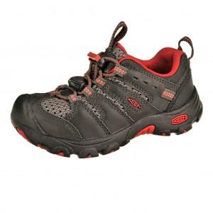 Dětská obuv KEEN Koven low  /raven/ribbon red -  Do hor nebo nížin