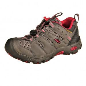 Dětská obuv KEEN Koven low WP /magnet/cerise -  Do hor nebo nížin