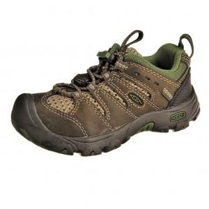 Dětská obuv KEEN Koven low  /black olive/garden green -  Do hor nebo nížin