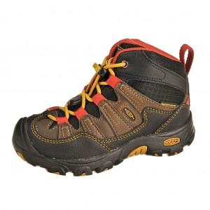 Dětská obuv KEEN Pagosa MID WP  /casc. brown/tawny olive -  Do hor nebo nížin