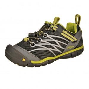 Dětská obuv KEEN Chandler   /raven/bright chartreuse -  Sportovní