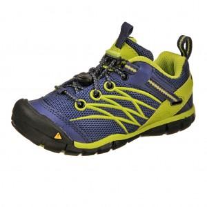 Dětská obuv KEEN Chandler   /blue depths/lime green -  Sportovní
