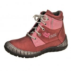 Dětská obuv FARE 822141 /vínová -  Celoroční