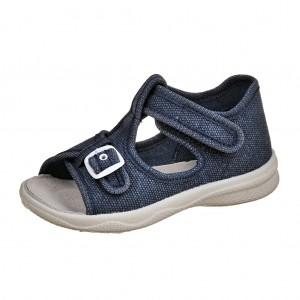 Dětská obuv Domácí sandálky Superfit 4-00292-80 -  První krůčky