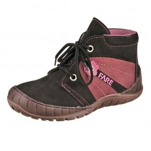 Dětská obuv FARE 823212 /černá/vínová -  Celoroční