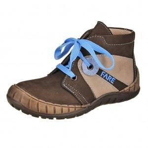 Dětská obuv FARE 823121 /hnědá -  Celoroční