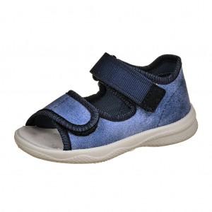 Dětská obuv Domácí sandálky Superfit 4-00294-80 -  První krůčky