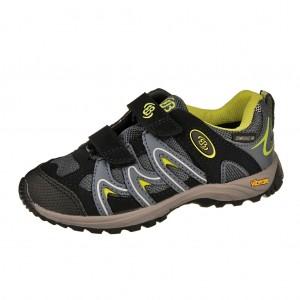 Dětská obuv Brütting Vision low V Kids  /petrol/lemon -  Sportovní