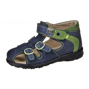 Dětská obuv Sandály KTR 141 142  modré zelené - 84fc543432