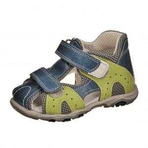 Dětská obuv Sandálky Santé 810/301 /modrá -  Sandály