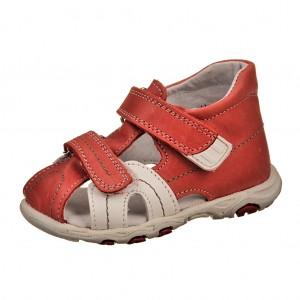 Dětská obuv Sandálky Santé 950/901 /červená -  Sandály