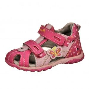 Dětská obuv Sandálky Santé MY 699 Fuchsia -  Sandály