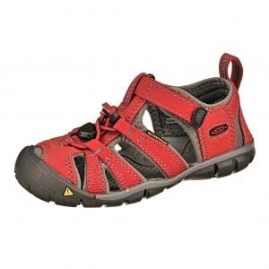 Dětská obuv KEEN Seacamp   /chilli pepper/gargoyle -