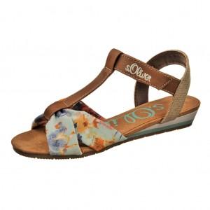Dětská obuv s'Oliver Flower multi -  Sandály