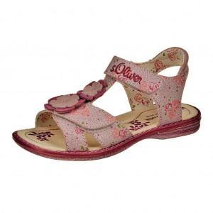 Dětská obuv s'Oliver White comb. -  Sandály