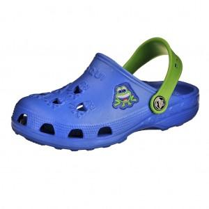 Dětská obuv Coqui   /modré/zelené -  Sandály
