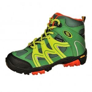 Dětská obuv Brütting Vision High   /grün/lemon -  Do hor nebo nížin