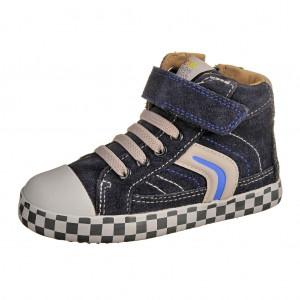 Dětská obuv GEOX B Kiwi G   /navy/grey -  Celoroční